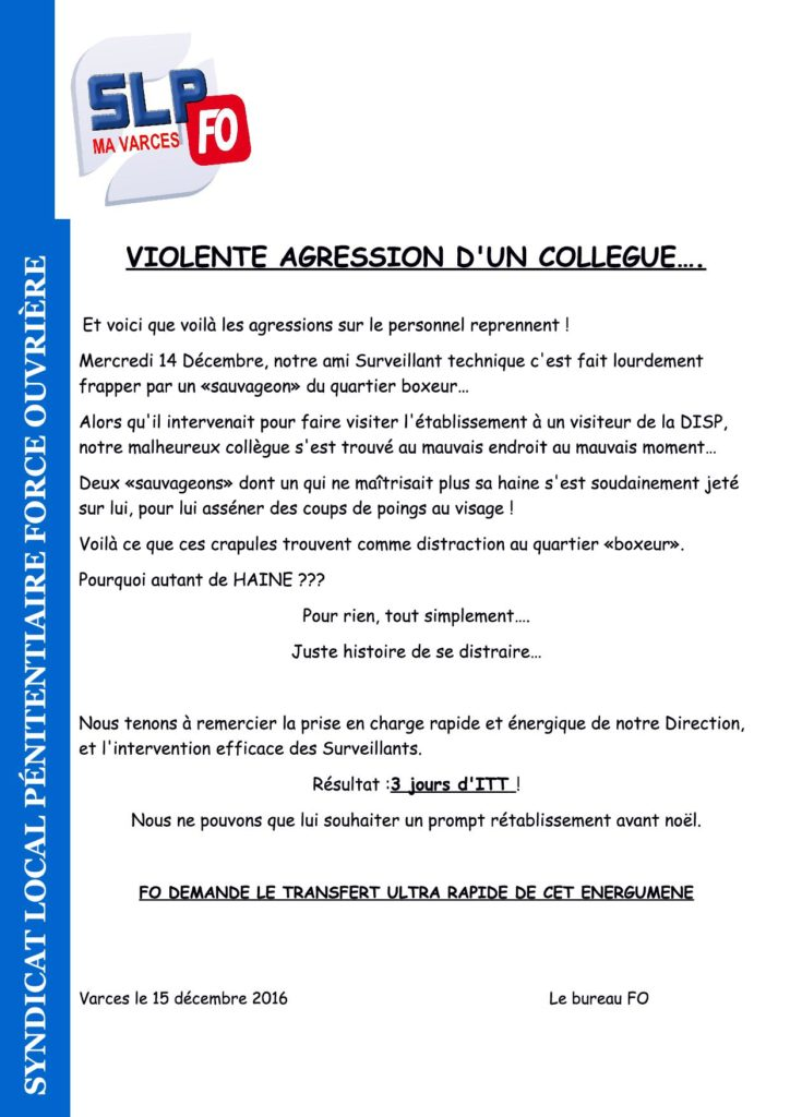 agression Grenoble